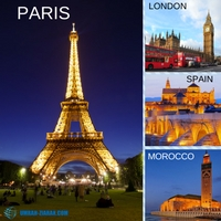 Umrah Ziarah Benua Eropah / Afrika