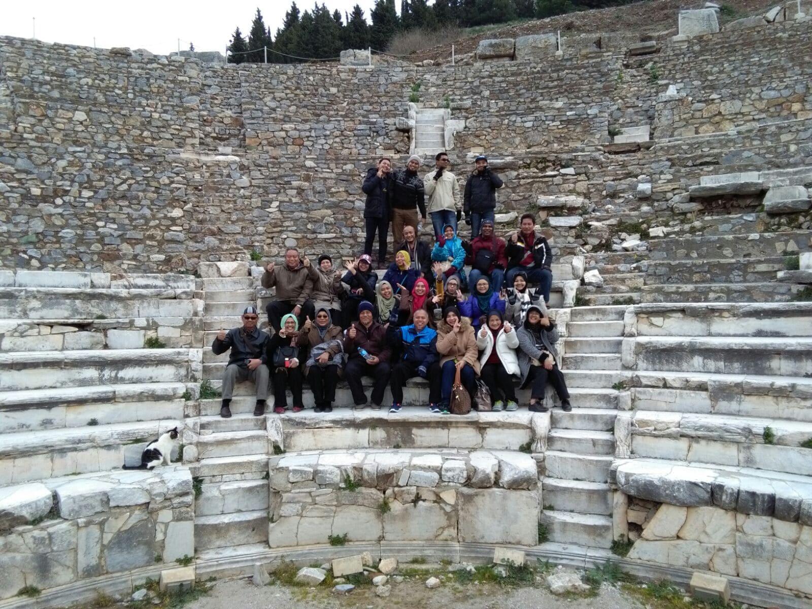 Holidays di Turki, Ephesus dkt Kusadasi