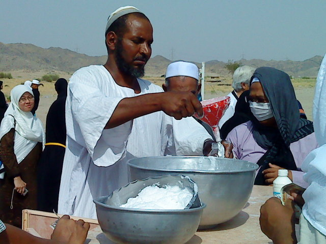 Susu Unta Di Hudaibiah- Gambar Ihsan Shaha Bahar Rapiei