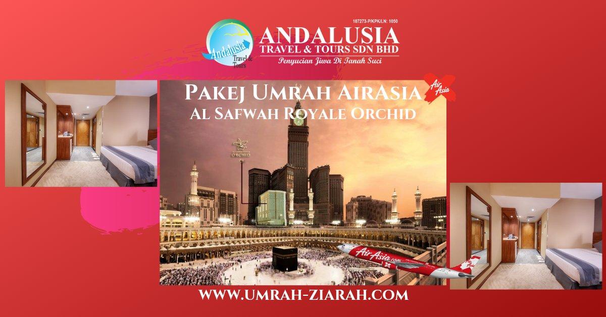 Umrah AirAsia (Al Safwah Royale Hotel)