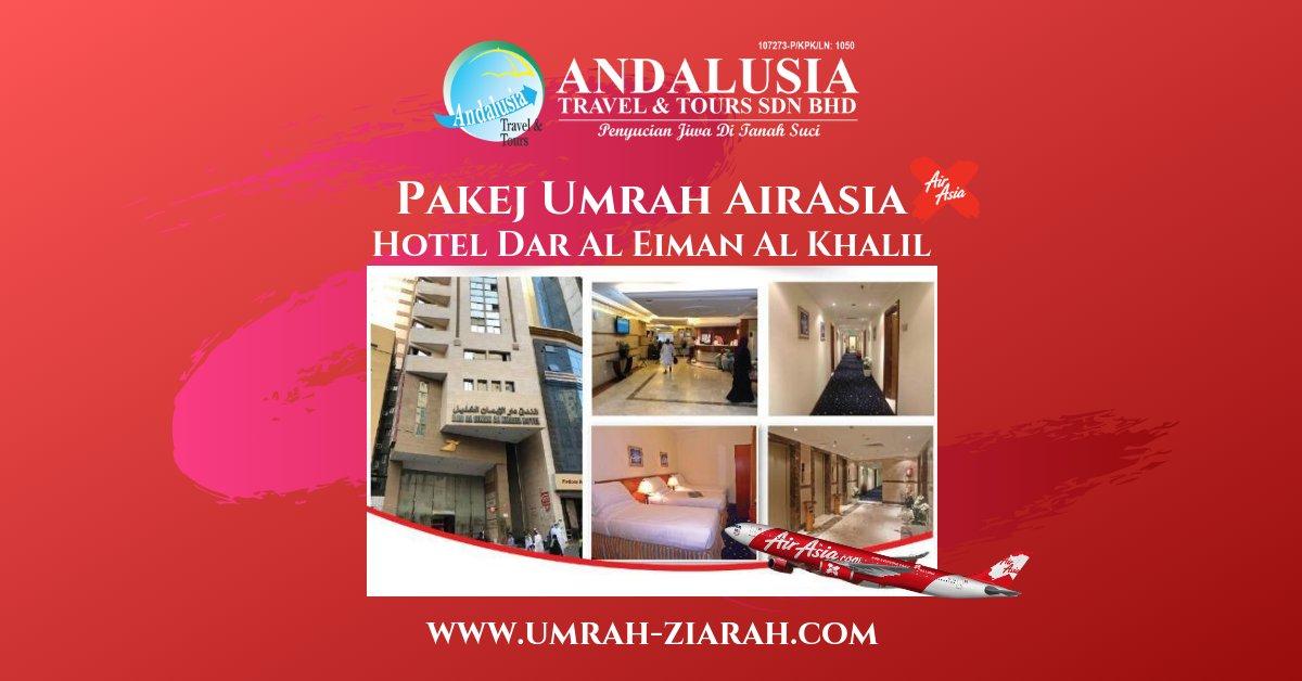 Umrah AirAsia (Dar Al Eiman Al Khalil)