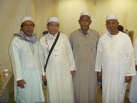 Md Suhaimi - bersama rakan di Mekah