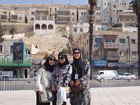 Malisa, Zulaikha & Ezlyn   Ziarah Jordan