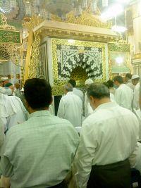 Mimbar Nabi SAW di Raudah - Gambar Ihsan Shaha Bahar Rapiei